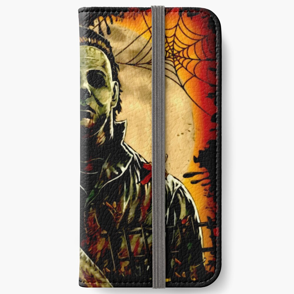 Horror Mashups: A Real Man  iPhone Wallet