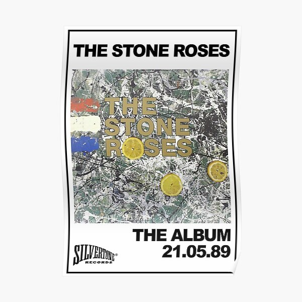Earth The Stone Roses Poster