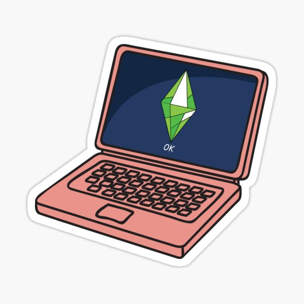The Sims Ok Mood Sticker