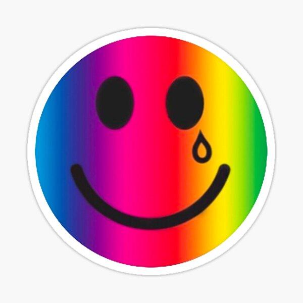 Feliz y triste Pegatina