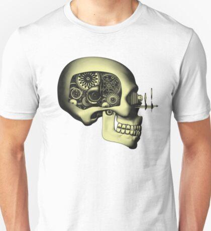 Vintage Steampunk Automaton Skull #1 T-Shirt