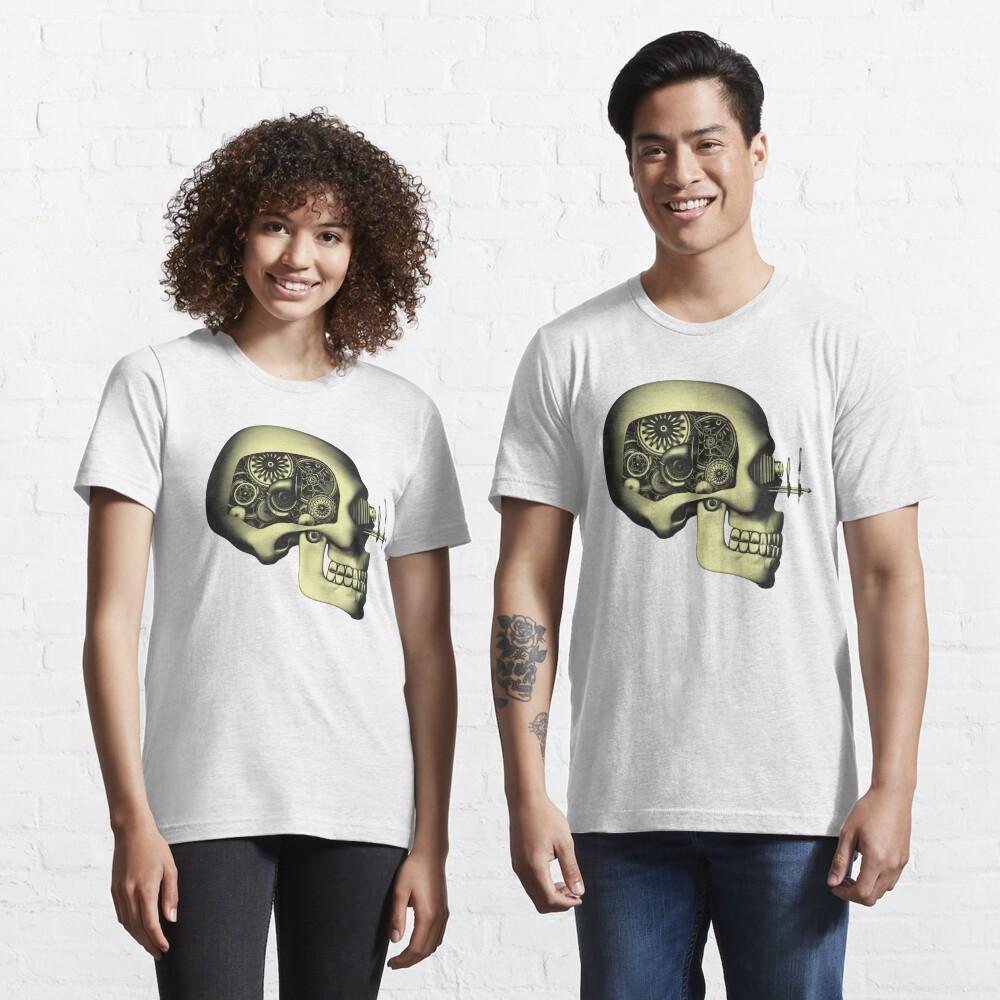 Vintage Steampunk Automaton Skull #1 Essential T-Shirt