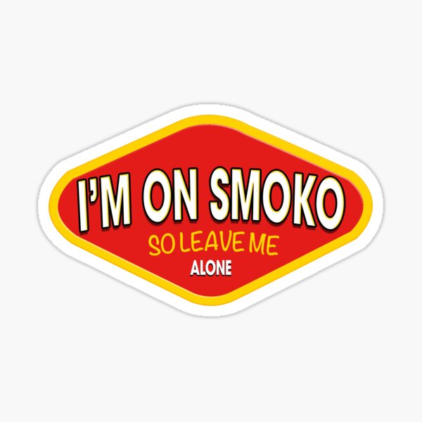 I'm On Smoko Vegemite The Chats Sticker