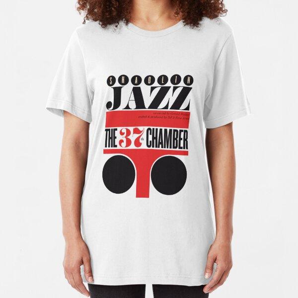 SHAOLIN JAZZ - Shapes Slim Fit T-Shirt