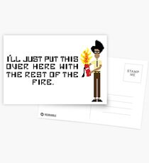 The I.T Crowd Fire Extinguisher Postcards