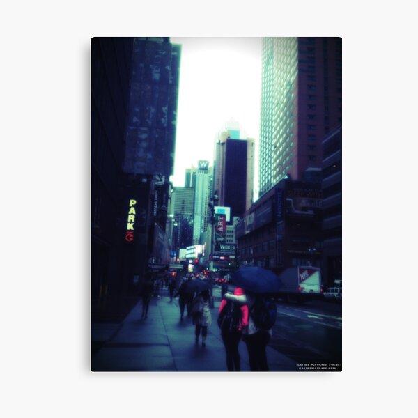 Rachel Maynard Photo - Rainy Day New York City Canvas Print