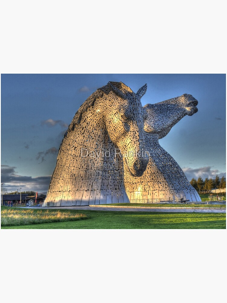 The Kelpies jigsaw puzzle by goldyart