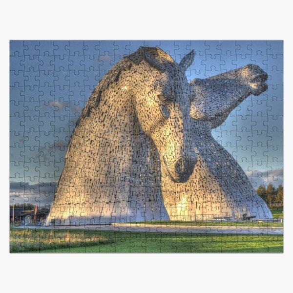 The Kelpies jigsaw puzzle Jigsaw Puzzle