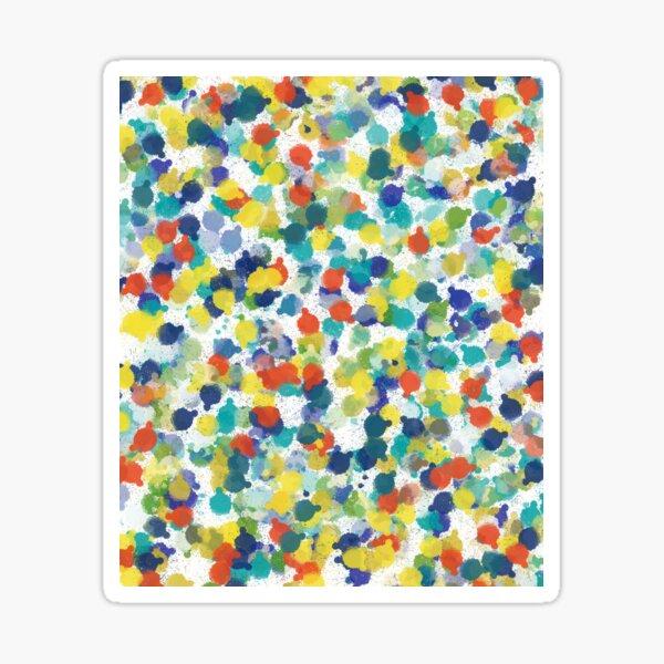Multi Splatter Sticker
