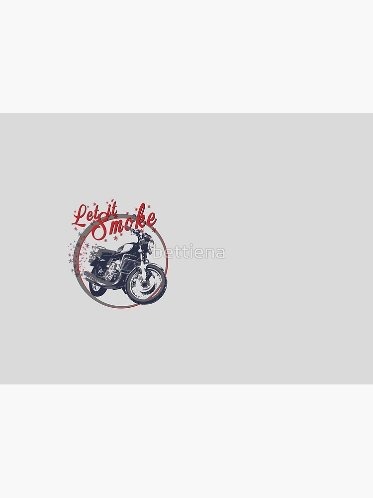 Suzuki GT750 Let is Smoke by bettiena