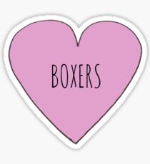 BOXER LOVE Sticker