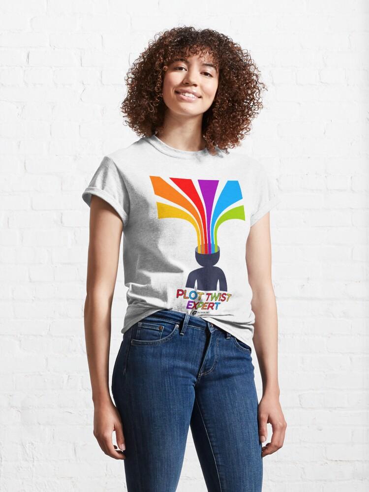 Vista alternativa de Camiseta clásica Plot Twist Expert