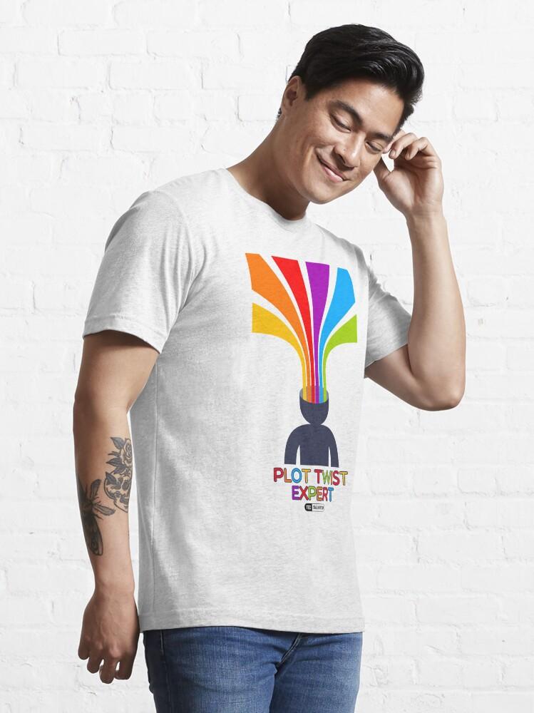 Vista alternativa de Camiseta esencial Plot Twist Expert