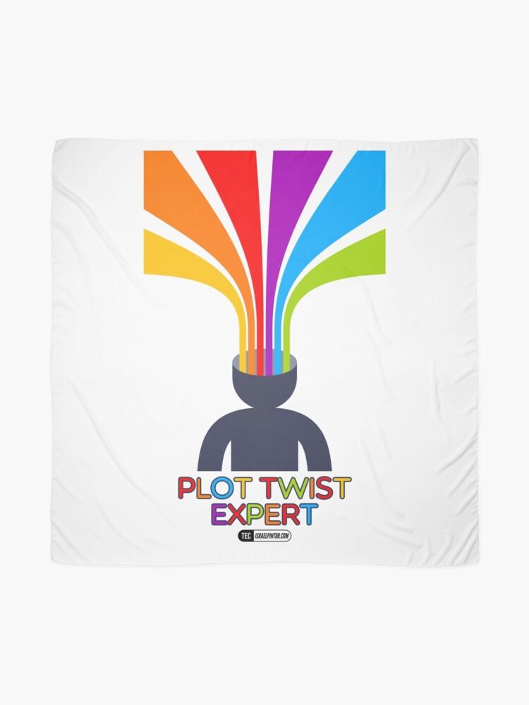 Vista alternativa de Pañuelo Plot Twist Expert