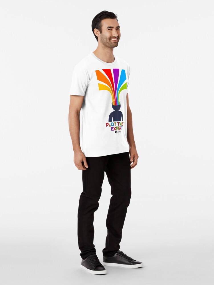 Vista alternativa de Camiseta premium Plot Twist Expert
