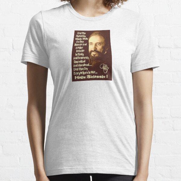 Haile Selassie Quote Essential T-Shirt
