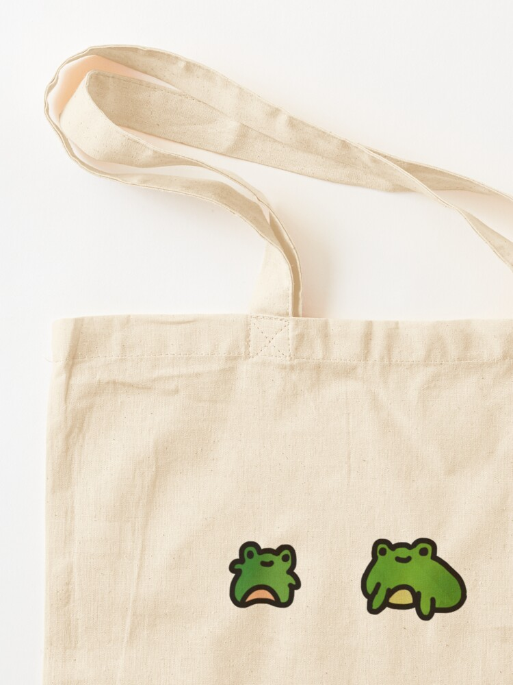Alternate view of Frogs Doodle Tote Bag