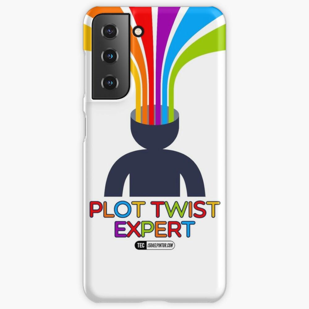 Plot Twist Expert Funda de Samsung Galaxy
