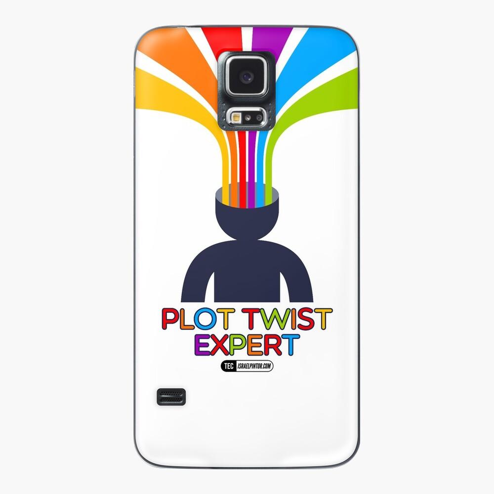 Plot Twist Expert Funda y vinilo para Samsung Galaxy