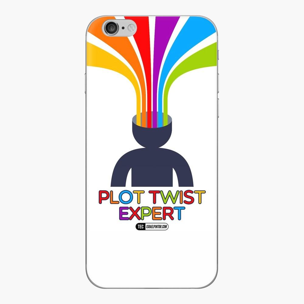 Plot Twist Expert Vinilo para iPhone