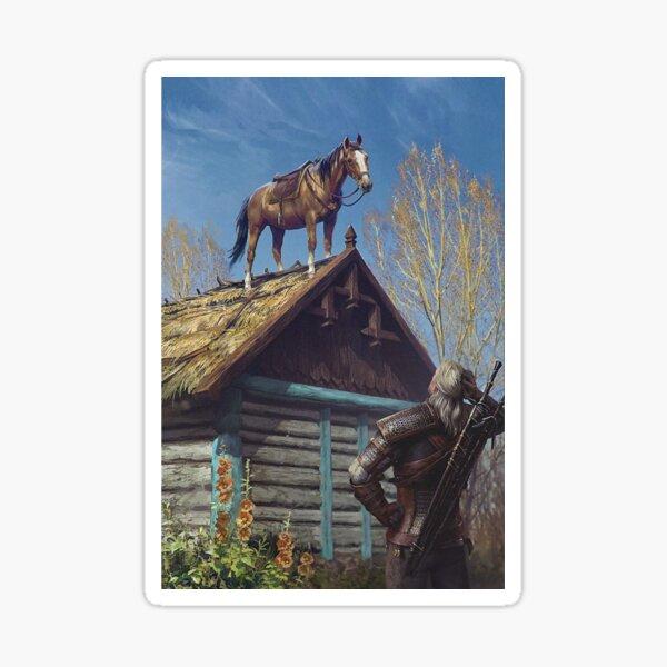 Witcher Roach Sticker