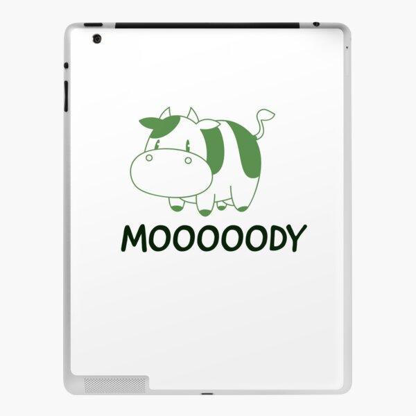 Moody Cow Classic T-shirt  iPad Skin