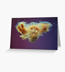 Swimming in a Purple Haze. Greeting Card