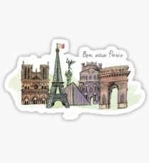 Good Old Paris Sticker