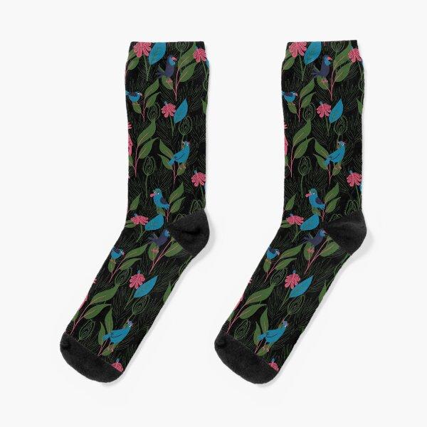 Tropical Birds Socks
