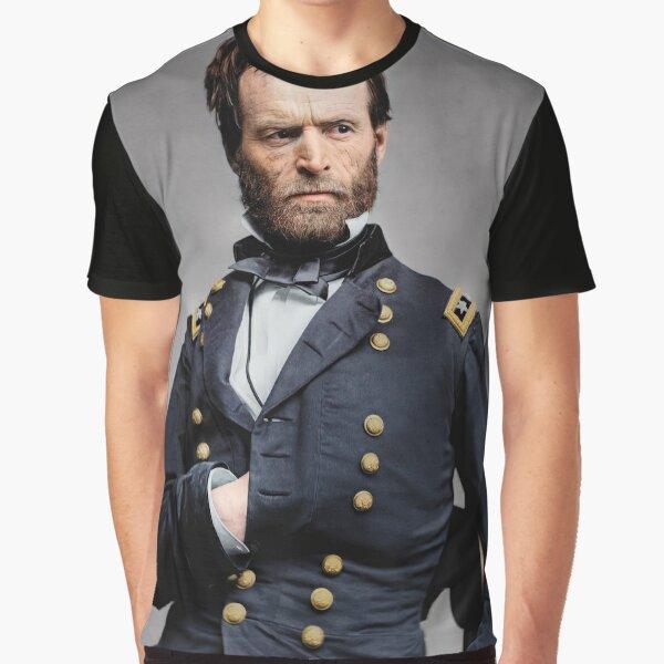 General William T. Sherman - Civil War Graphic T-Shirt