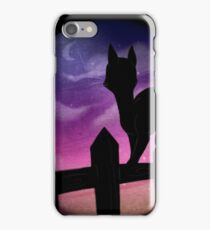 Dusk Follows iPhone Case/Skin