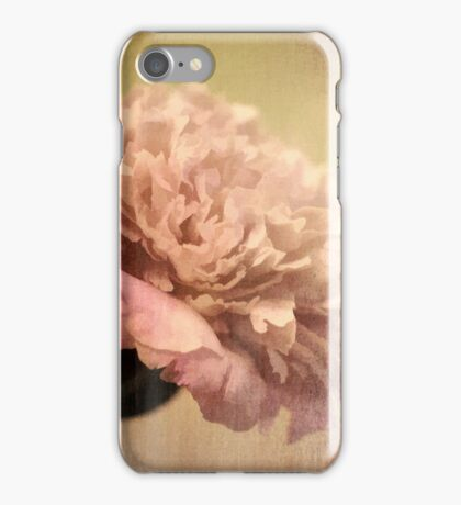 Peonies III iPhone Case/Skin