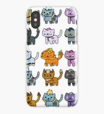 Neko Atsume Feral Druid Todos iPhone Case/Skin