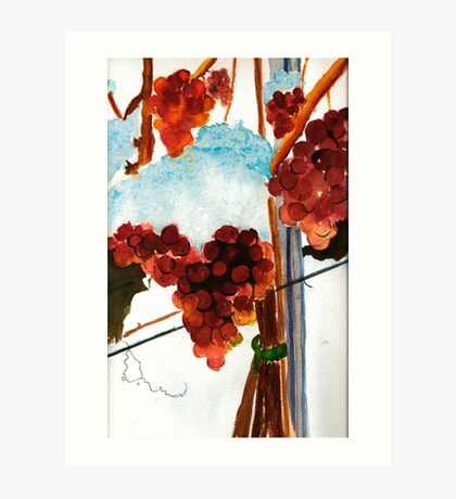 Ice Wine Art Print