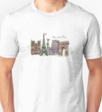 Gutes altes Paris Unisex T-Shirt