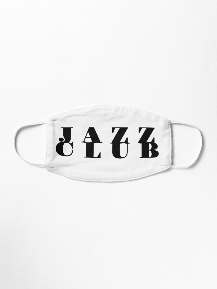 Alternate view of Jazz Club Mask