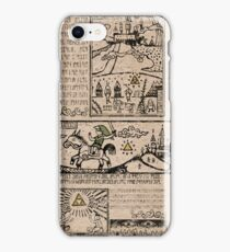 Hero of Time Tapestries iPhone Case/Skin