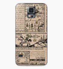 Funda/vinilo para Samsung Galaxy Tapices del héroe del tiempo