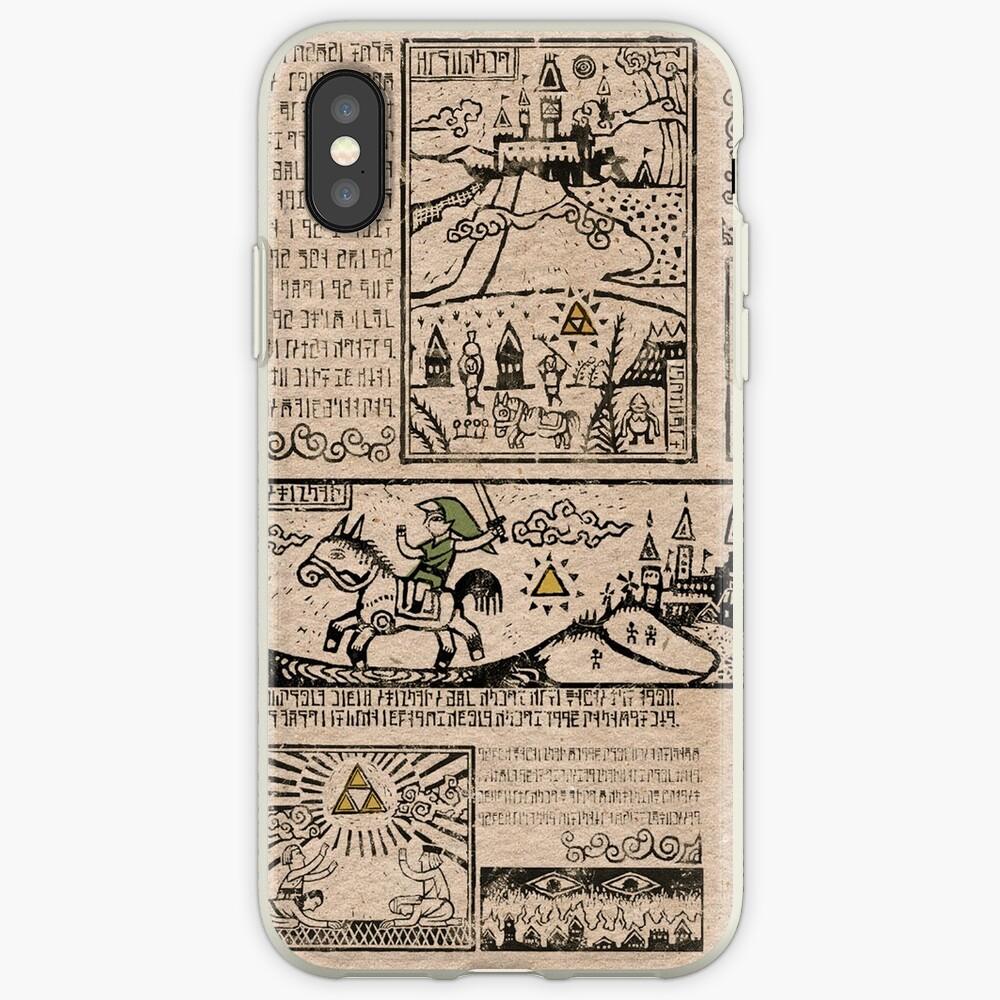 Tapices del héroe del tiempo Funda y vinilo para iPhone