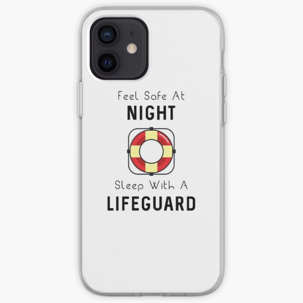 Sleep With A Lifeguard iPhone Soft Case