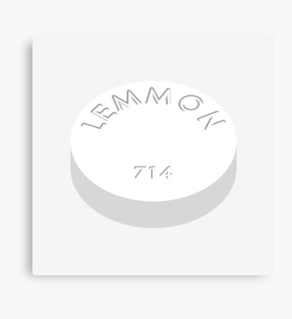 Lemmon 714 (Quaalude) - The Wolf of Wall Street Canvas Print