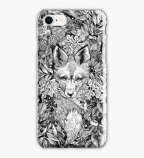 Hiding fox iPhone Case/Skin
