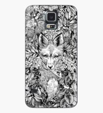 Hiding fox Case/Skin for Samsung Galaxy