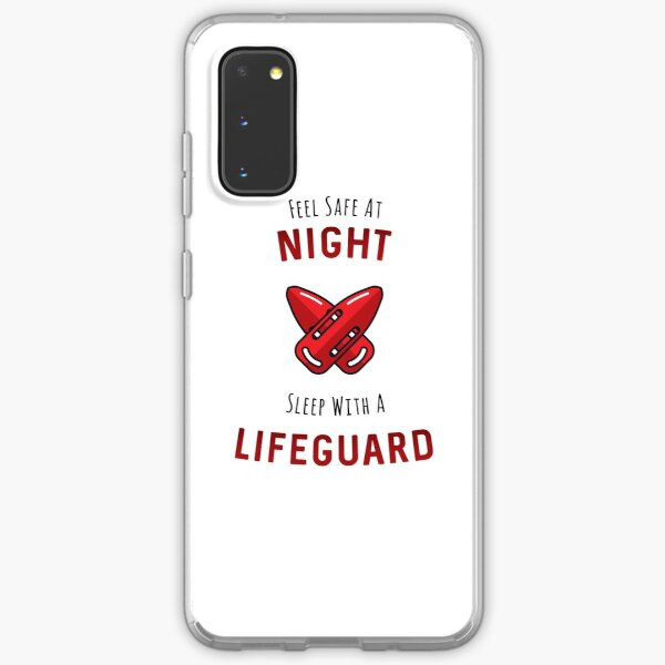 Sleep With A Lifeguard Samsung Galaxy Soft Case