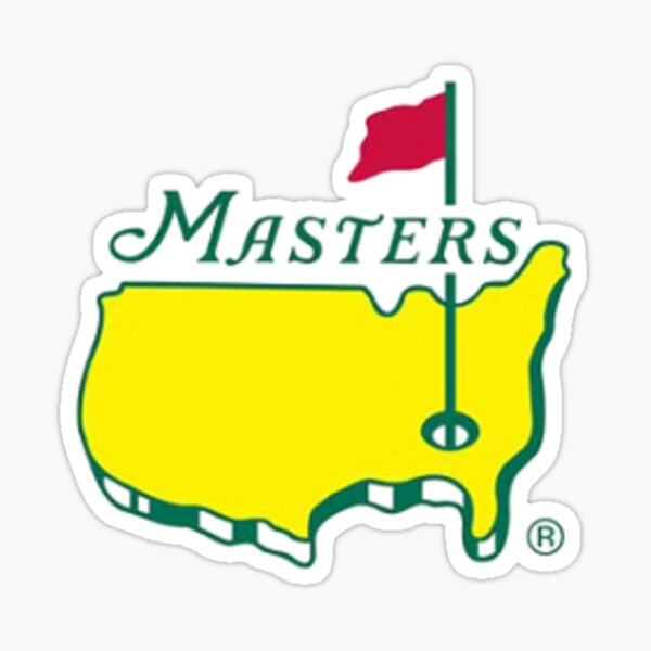 masters golf pga Sticker