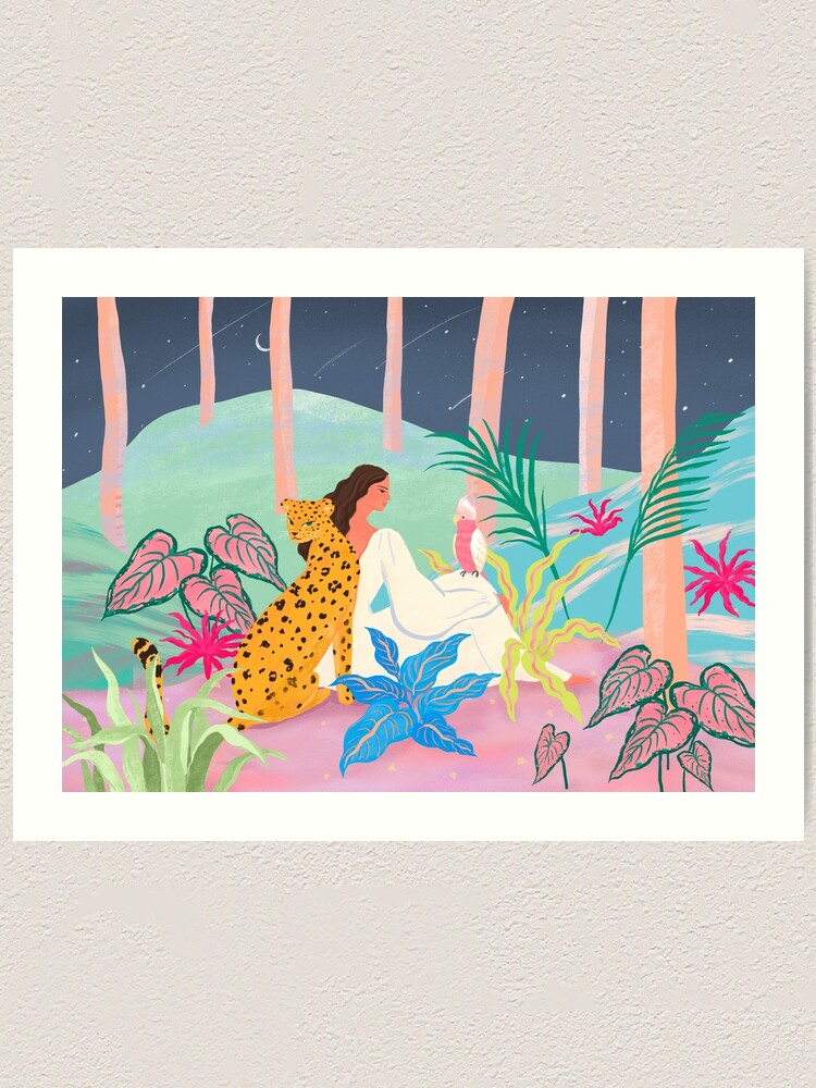 Alternate view of Better Together At Night Art Print