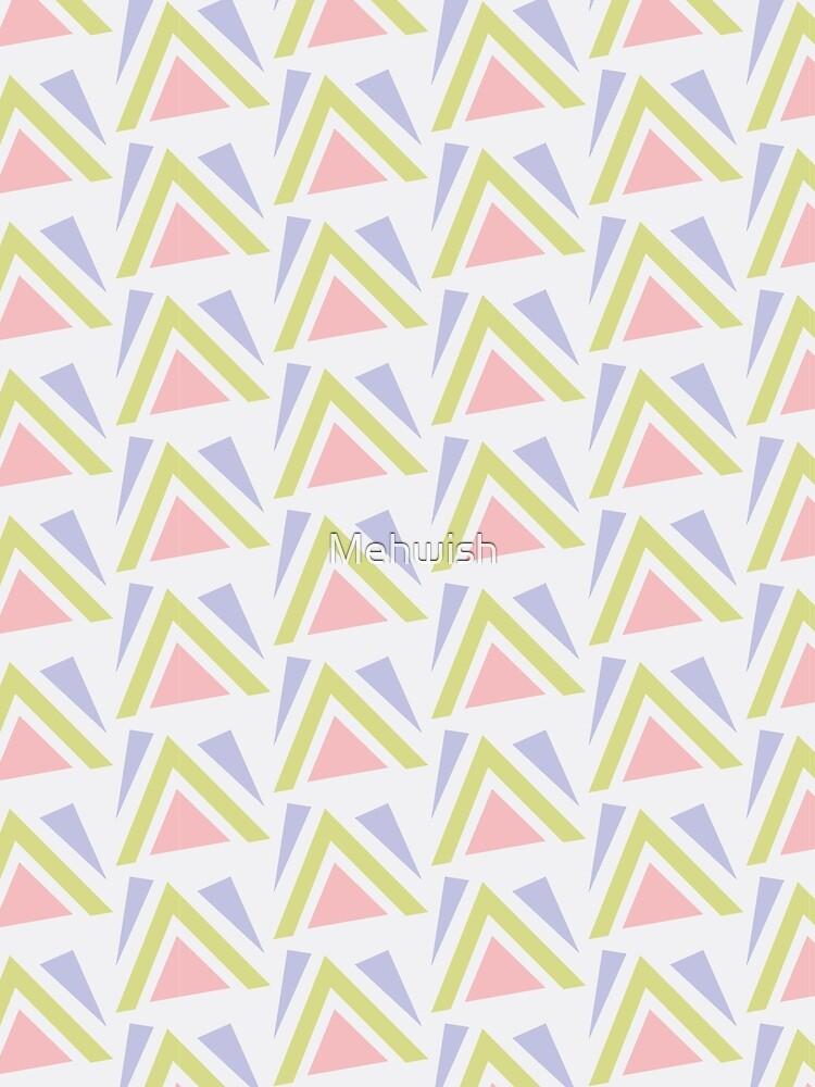 Geometric-Triangular Pattern by Mehwish