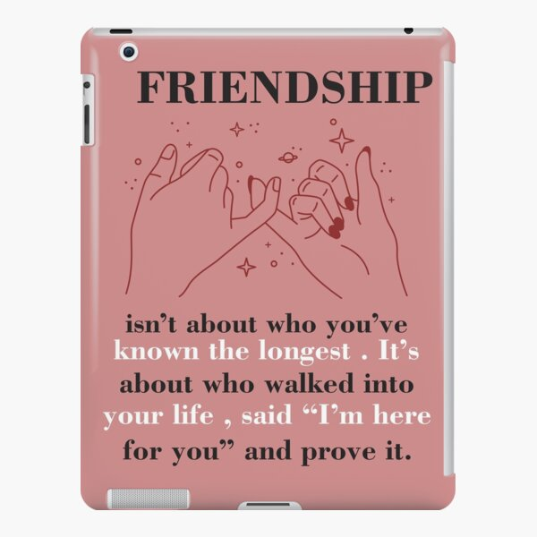 A friend forever... iPad Snap Case