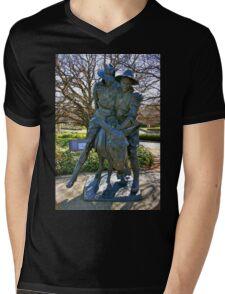 Australian Diggers Mens V-Neck T-Shirt