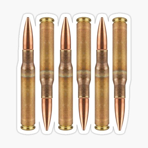ebn1298 Multiple Color /& Sizes Bullet Ammo Shell Vinyl Decal Sticker